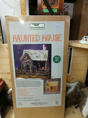 "Greenleaf Products "" HAUNTED HOUSE  DOLLHOUSE "" Kit in 1"" scale"