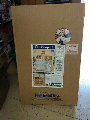 "Real Good Toys "" THE NEWPORT DOLLHOUSE "" Kit in 1"" scale"