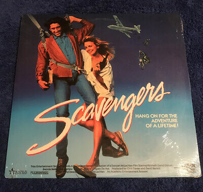 Scavengers - Laserdisc - Sealed - New - 1988 - Rare - Academy Entertainment