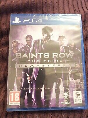 Saints Row The Third Remastered   Ps4 Game  Brand New Sealed  New Release