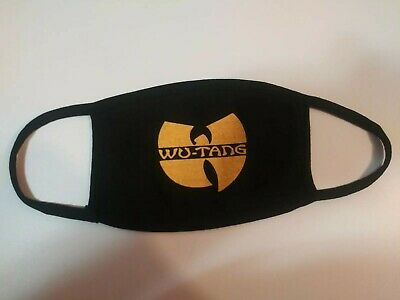 Wu-Tang Clan Face Mask Mouth Cover / Wutang Unisex Masks Protection homemade