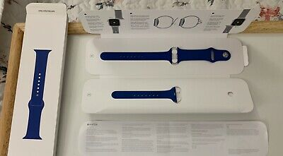 Apple Watch Sport Band  40mm/38mm Authentic Genuine Blue Delft Blue