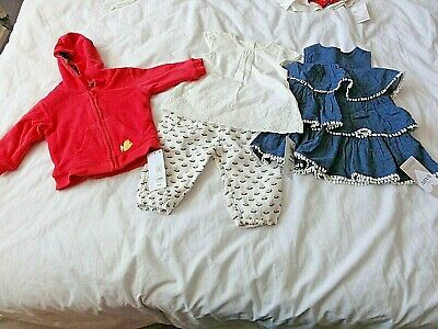 Baby Girl Bundle 3-6 Months Trousers Top Dress Etc Marks & Spencer New Tags Cute