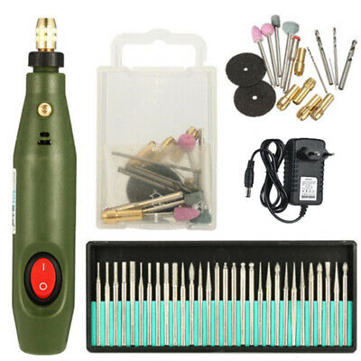 DIY Mini Electric Drill Grinding Set Rotary Polish Drilling Cutting Grinder Tool