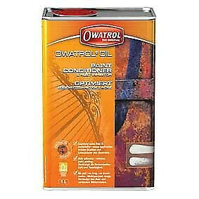 Owatrol Oil1L paint conditioner rust inhibitor.Narrowboat,vintage,camper,tractor