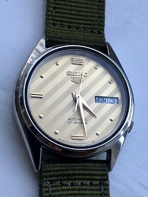 vintage seiko automatic watch