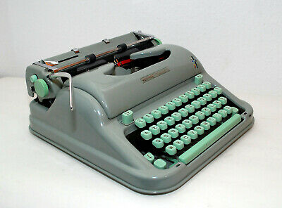 HERMES Media 3, Schreibmaschine, typewriter, AZERTY techno 10 cpi, revidiert!