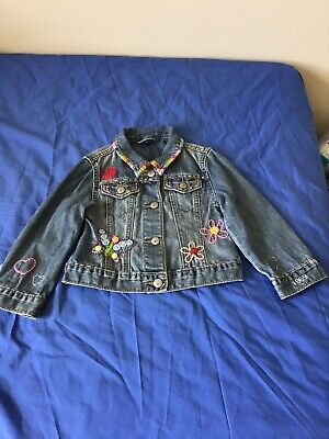 Gap Toddler Girls Denim Jacket Age 3