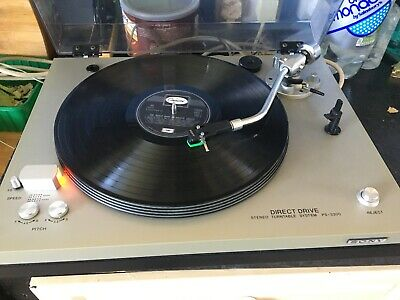 Sony PS-3300 Stereo Direct Drive Turntable