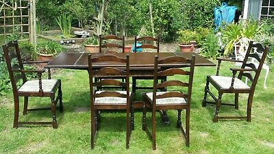 Jaycee dining table and 6 chairs