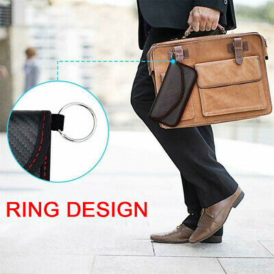 Car Key Signal Blocking Cell Phone Accessories Shield Wallet Pouch Faraday Bag