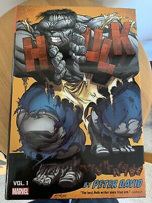 INCREDIBLE HULK BY PETER DAVID NM DM Variant Omnibus Used Excellent Condition