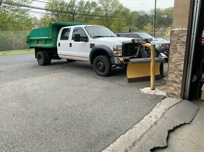 2008 Ford Other Pickups LOW MILES 4WD F450 DRW, DIESEL, AIR, 6 NEW TIRES!! 6 NEW TIRES, 2 NEW BATTERIES, FULLY OPERATIONAL PLOW, FULLY OPERATIONAL DUMP!!!!