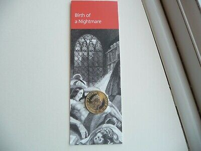 2018 Mary Shelley's Frankenstein Two Pounds £2 BU Coin Brilliant Uncirculated UK