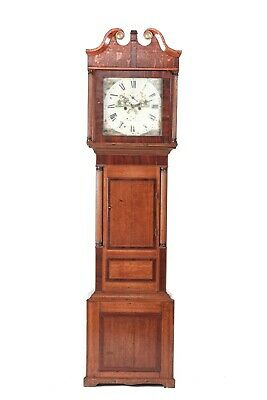Antique Oak Eight Day Long case Clock
