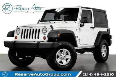 2008 Jeep Wrangler X Automatic Hardtop 3:73 Gears 24B Pkg 2008 Jeep Wrangler, Stone White with 111014 Miles available now!