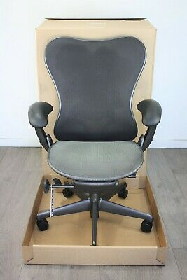 UK & EU Delivery   Herman Miller Mirra Chairs   Graphite   Butterfly Backrest