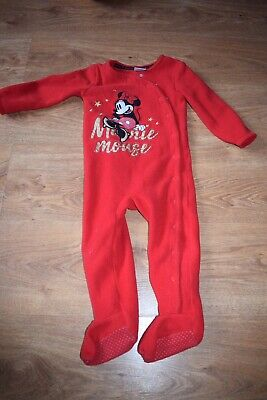 Minnie Mouse Sleepsuit 12-18 Months