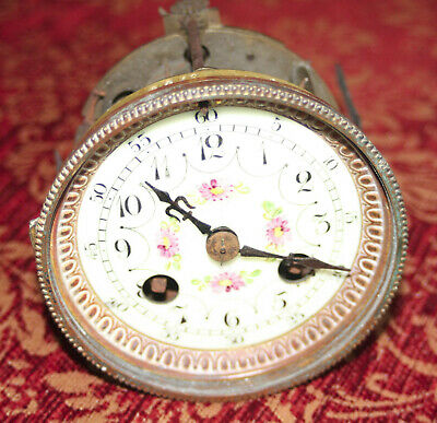 French Marti bellstrike clock movement for spares repair