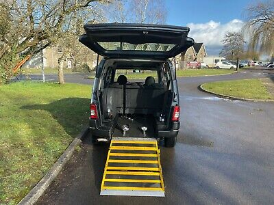 Peugeot Partner WHEELCHAIR ACCESSIBLE mobility disabled ramp wav ramp