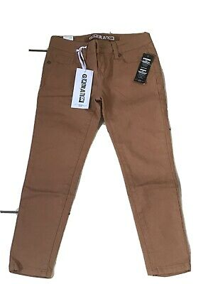 BNWT Girls New Look Brown Jeans Trousers 10 Yrs Ankle Grazers