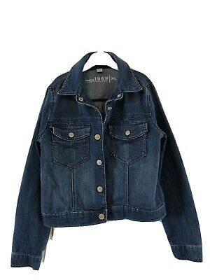 Gap Denim Jacket Size Xl 155 - 166 Cm Approx 11/12 Years