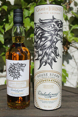 GoT Scotch Whisky43% House Stark - Dalwhinnie Winter's Frost - Game of Thrones