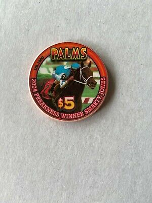 Palms Casino Preakness Winner 2004 Smarty Jones $5 Chip