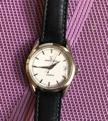 Watch Universal Geneve  Automático, Old Stock New, All Steel Case.