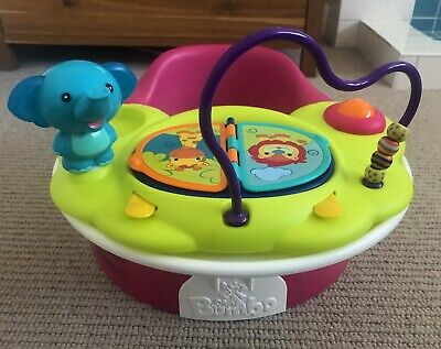 Bumbo Floor Seat, tray table & safari activity tray - immaculate condition!