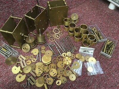 Longcase Movement making Large selection Parts mainly. Timmings Book