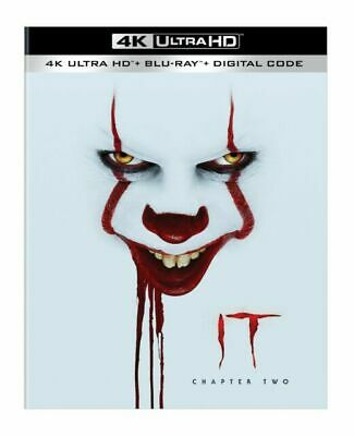 It - Chapter Two (4K + Blu-ray + Digital) W/ Slipcover - New, Free Shipping