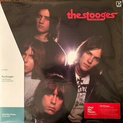 The Stooges - John Cale Mix - Red & Black Marbled Vinyl - US - Sealed - MINT