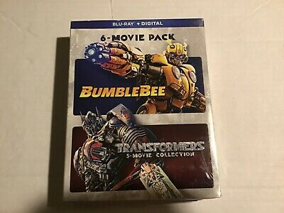 Transformers 5-Movie Collection + Bumblebee Blu Ray