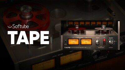 Softube Tape Plugin - Genuine License Serial - Digital Delivery - Mac & PC