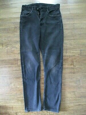 Black faded skinny fit H&M boys jeans age 13-14/ 164
