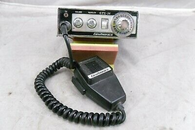 Vintage GemTronics Model GTX-36 CB Radio w/Mic 23 Channel