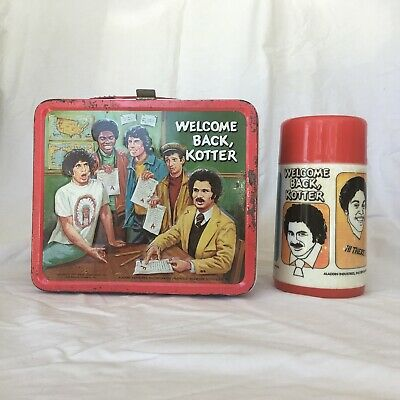 Welcome Back Kotter Lunchbox W/ Matching Thermos 1977