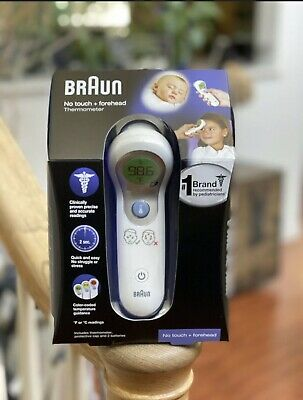 NEW Braun No Touch Forehead Thermometer - IN HAND