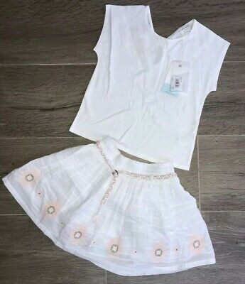 Carrement Beau Girls Outfit Skirt & T Shirt Age 4 Yrs BNWT ‼️‼️RRP £61‼️‼️