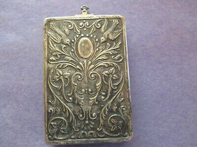Antique Sterling Silver Card/Photo Box ~~Way Kool