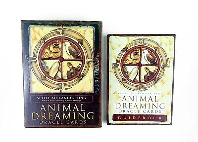 """""""Animal Dreaming Oracle Cards"""" By Scott Alexander King Oracle Cards"""