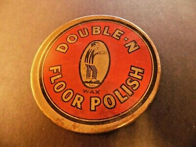 Vintage Nicholson's Floor Polish Tin,    Advertising Litho