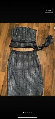 Coast 2 Piece Outfit Skirt Size 12 Sleeveless Top Size 12