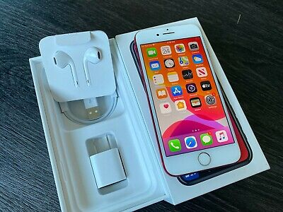 Apple - iPhone 7 128GB - (PRODUCT)RED (Unlocked) A1788 MPRH2LL/A Smartphone