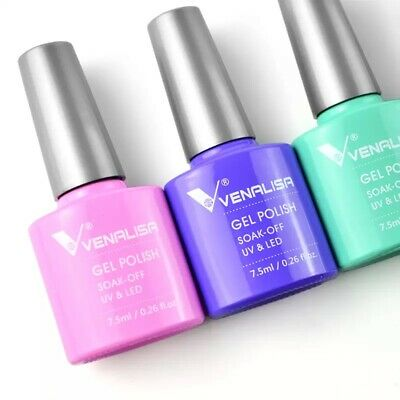 Venalisa Nail Art 7.5Ml Soak Off UV Gel Nail Polish Lacquer Varnish Design