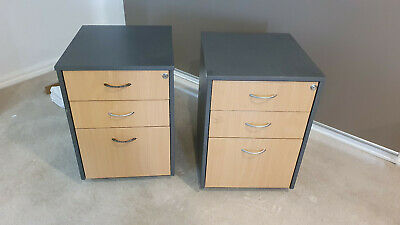 Mobile office storage drawers