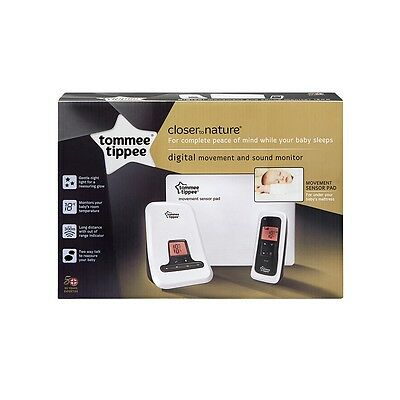 NEW Tommee Closer To Nature Digital Sensor Mat Baby Movement SOUND ALARM MONITOR