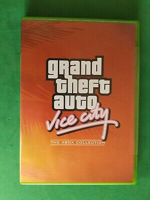 Grand Theft Auto Vice City Gta  Xbox New Pal It Nuevo Rare Microsoft