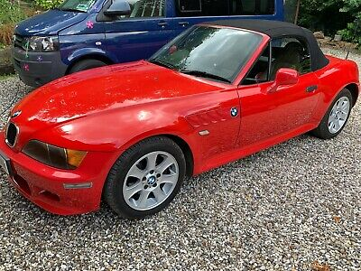 Bmw Z3 Roadster, 1999 2.0, Red